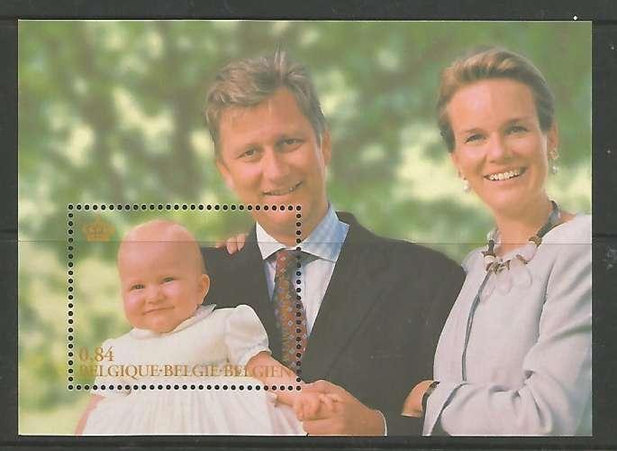 Belgique - 2002 - Famille Royale - Bloc 97 - Neuf **