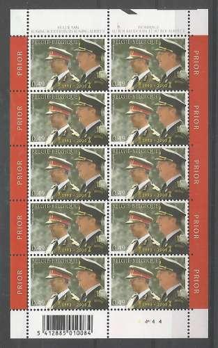 Belgique - 2003 - Baudouin et Albert II - F 3201 - Neuf **