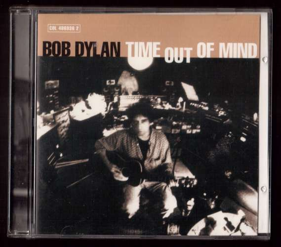 1997 UK & Europe CD Album Bob Dylan Time out of mind Columbia 486936 2