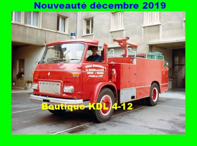 AL - Lot de 6 cartes postales modernes - Véhicules des Sapeurs-Pompiers de France