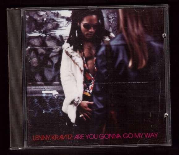 1993  Europe CD Lenny Kravitz Are you gonna go my way Virgin CD VUS 60