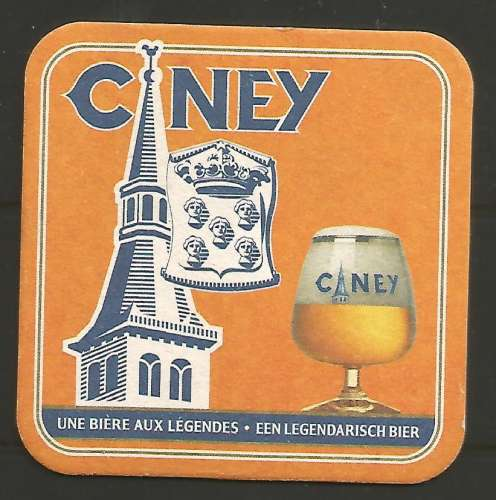 Sous-bock - Belgique - Ciney blonde - Br de Ciney - Neuf **