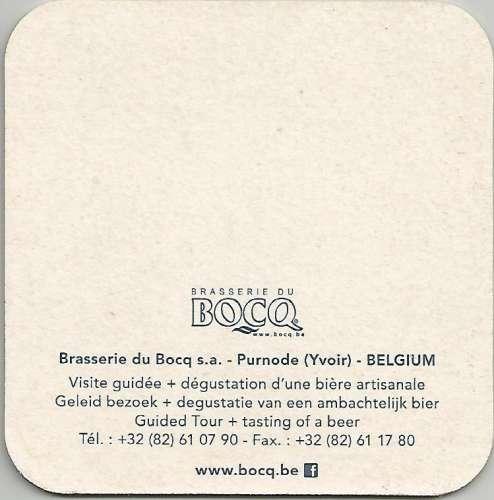 Sous-bock - Belgique - Gauloise - Br du Bocq - Neuf **