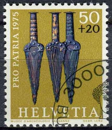 SUISSE 1975 OBLITERE N° 985