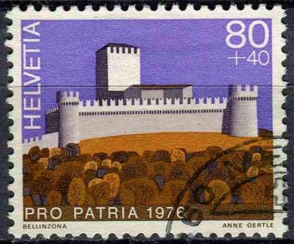 SUISSE 1976 OBLITERE N° 1008