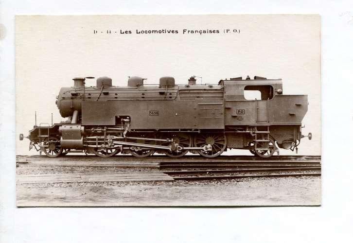 Les locomotives françaises FLEURY - P.O. D 11 à simple expansion