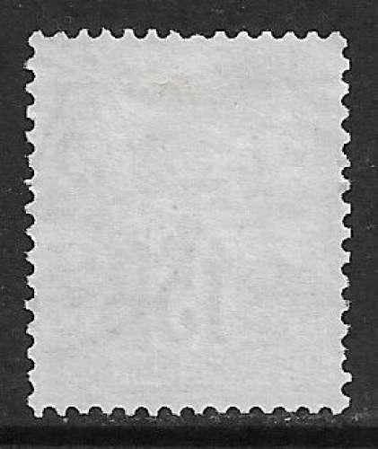 FRANCE 1876 Y&T 66 oblitéré - Type Sage N sous B - 15 c gris