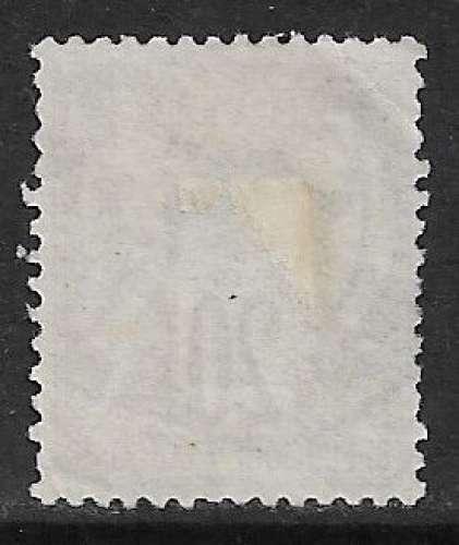 FRANCE 1876 Y&T 67 oblitéré - Type Sage N sous B - 20c brun-lilas