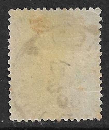 FRANCE 1898 YT 102 oblitéré - Type Sage N sous B - 5c vert-jaune