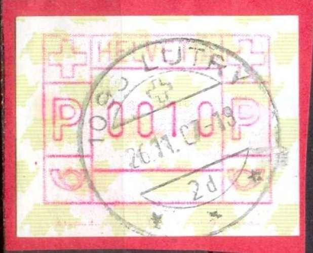 Suisse D 2 oblitéré