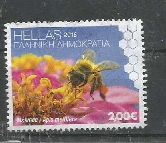 Grèce 2018 - YT n° 2901 - Abeille - cote 3,60