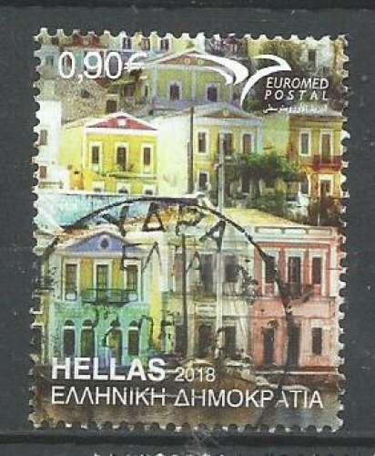 Grèce 2018 - YT n° 2914 - Maison du Dodécanèse  - cote 1,60
