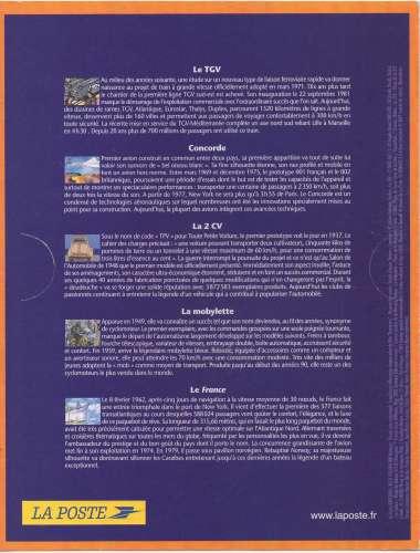 France 2002 - Y & T :  Bloc N°47- Siècle au fil du timbre : transports