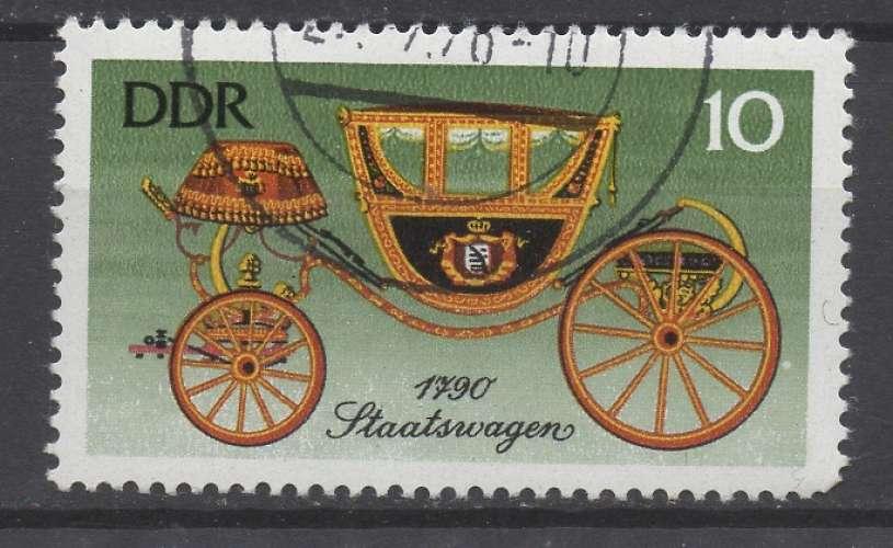 Allemagne RDA 1976 - Y & T : 1823 - Calèche ancienne