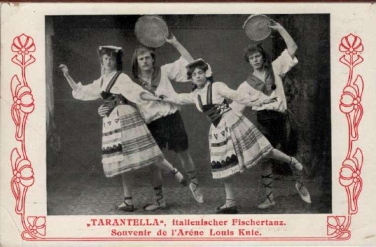 TARENTELLA - Italienischer Fischertanz - Souvenir de l'Arène Louis Knie (Spectacle - Cirque )