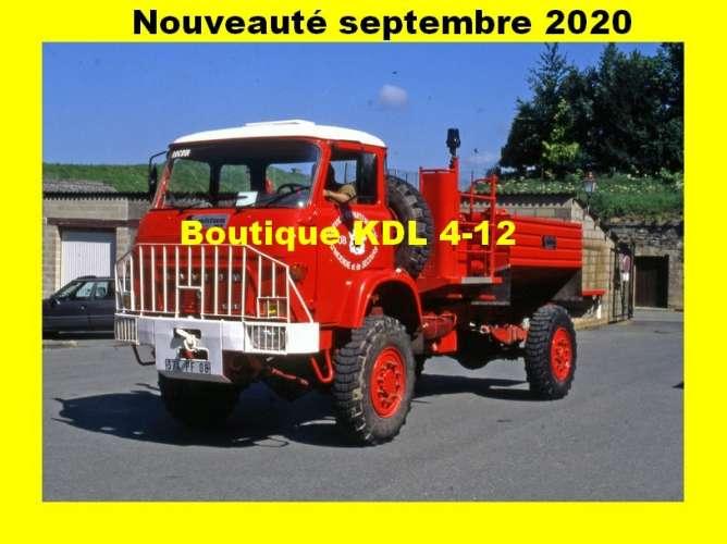AL - Lot de 10 cartes postales modernes - Sapeurs-Pompiers - Série 9/2020