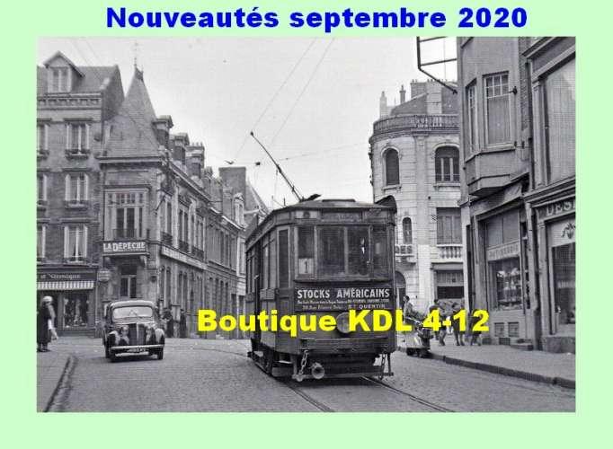 ACACF 210 à 225 tram - Lot de 16 cartes postales modernes ferroviaires - Les tramways