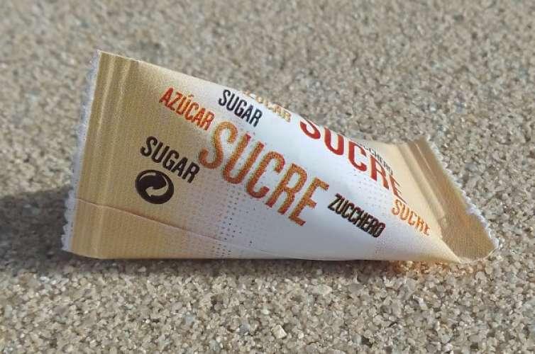 France Sachet Sucre Sugar KFC