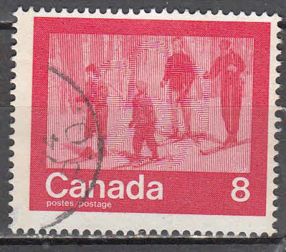 Canada 1974  Y&T  545  oblitéré