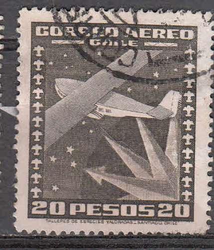 Chili 1934  Y&T  PA 46  oblitéré
