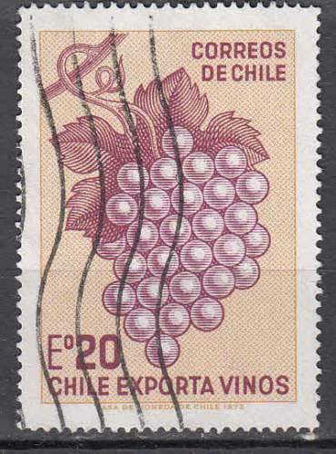Chili 1973  Y&T  404  oblitéré