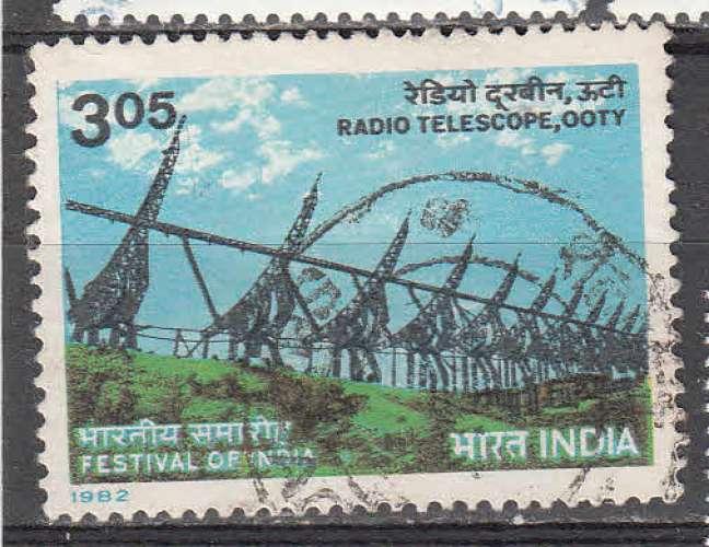 Inde 1982  Y&T  706  oblitéré
