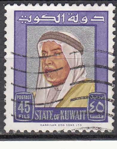 Koweït 1964  Y&T  224  oblitéré