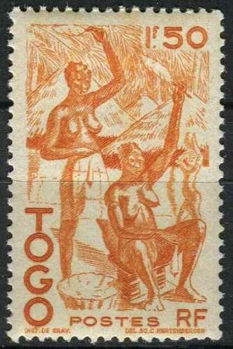TOGO 1947 NEUF* charnière N° 242
