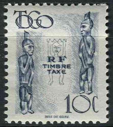 TOGO 1947 NEUF**MNH TAXE N° 38