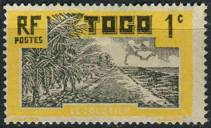 TOGO 1924 OBLITERE N° 124