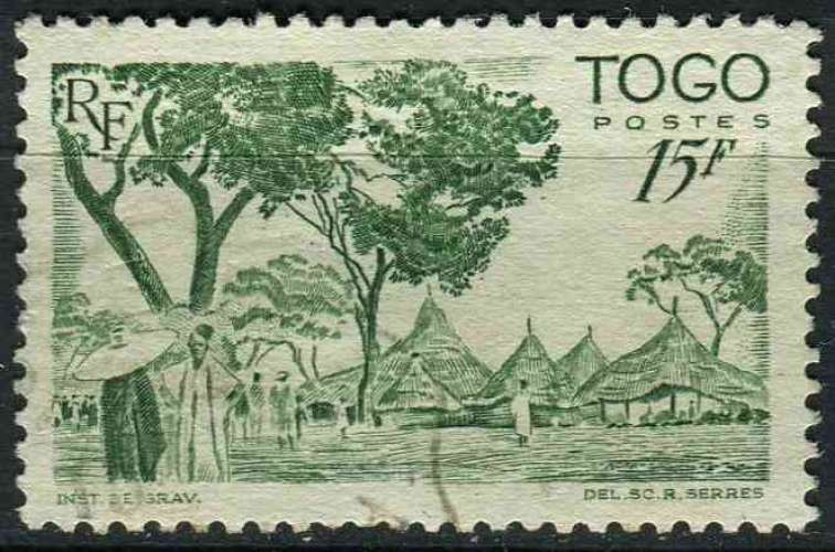 TOGO 1947 OBLITERE N° 251