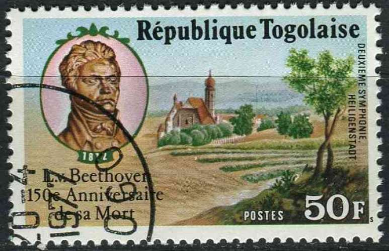 TOGO 1977 OBLITERE N° 890