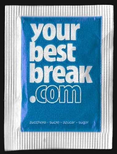 Sachet de sucre - Your Best Break - sachet non ouvert