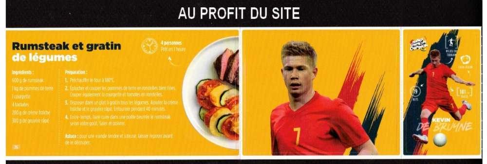 Au profit du site autocollant Carrefour Mange comme un champion K de Brunne frais 0,06€ seulement