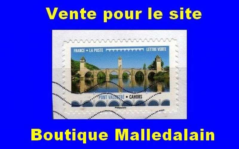 FRANCE - Oblitéré sur fragment - AA 1472 Pont Valentré  Cahors - TCA 281