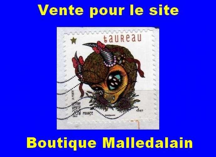 FRANCE - Oblitéré sur fragment - AA 942 Taureau - TCA 283