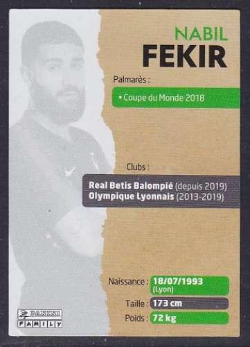 CARTE PANINI INTERMARCHE - AU PLUS PRES DES BLEUS N°24 : NABIL FEKIR