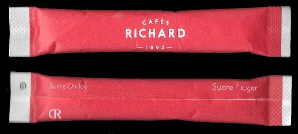 Buchette sucre - Cafés Richard - non ouvert
