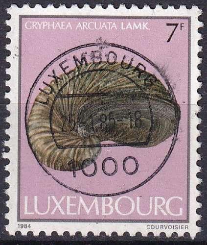 luxembourg ... n° 1058  obliteré ... 1984