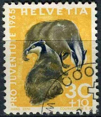 SUISSE 1965 OBLITERE N° 762