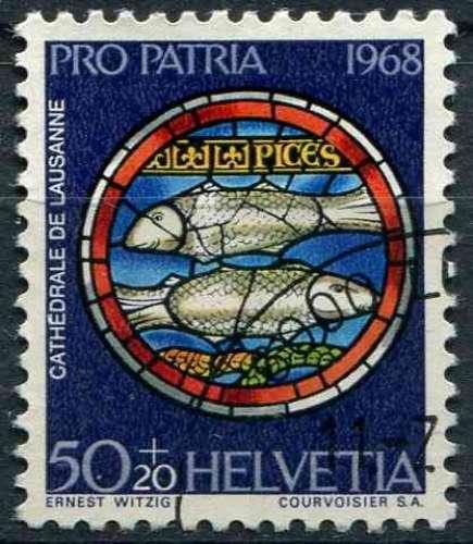 SUISSE 1968 OBLITERE N° 810