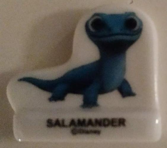 Fève Salamandre Reine des Neiges 2 Salamander