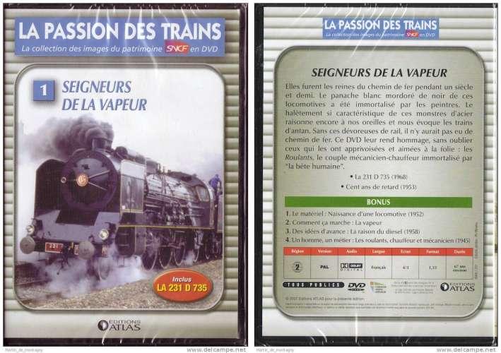 Seigneurs de la Vapeur, SNCF; neuf sous blister