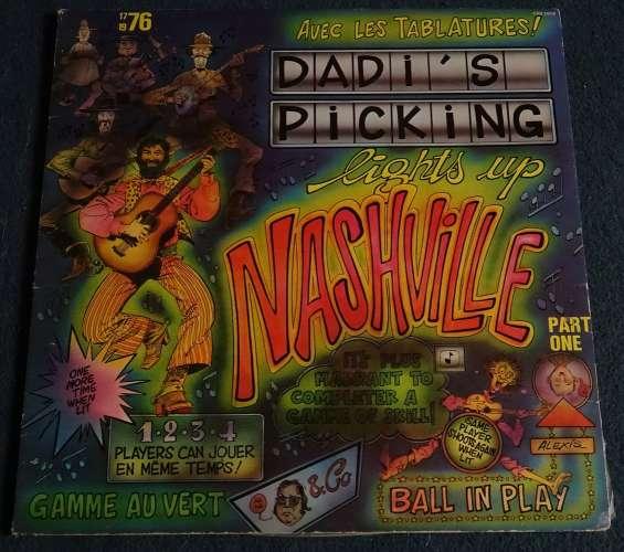 1976 France Vinyl LP Album Gatefold Dadi's picking lights up Nashville Cezame CEZ 1018