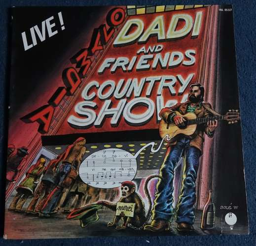1975 France Vinyl LP   Marcel Dadi and friends live à l'Olympia Transatlantic Records TRA 89527