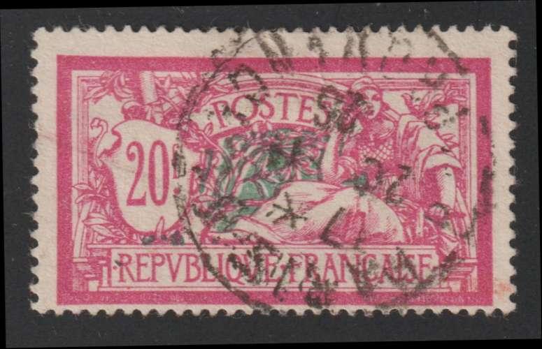 FRANCE : N° 208 oblitéré