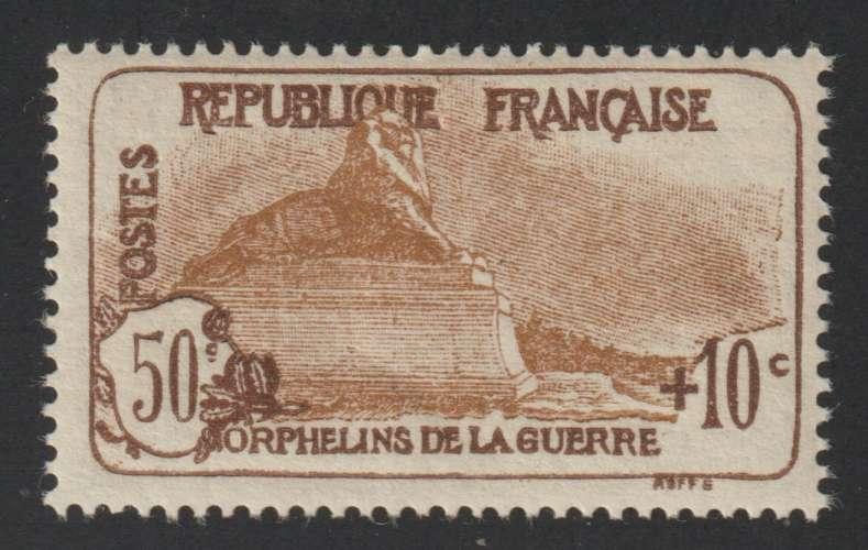 FRANCE : N° 230 ** (Au profit des orphelins de la guerre) - PRIX FIXE -