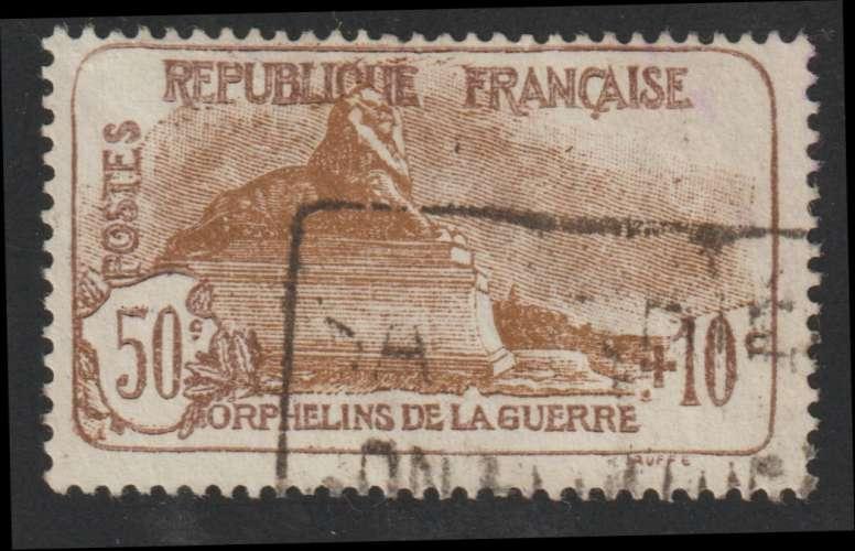 FRANCE : N° 230 oblitéré (Au profit des orphelins de la guerre) - PRIX FIXE -