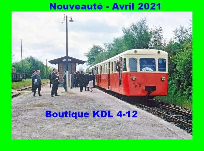 *AL - Lot de 17 cartes postales modernes ferroviaires - Région 3 - Voie Métrique - Série 4/2021