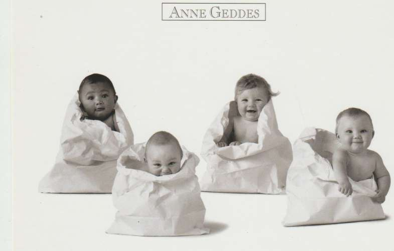 CPSM ANNE GEDDES : BEBES